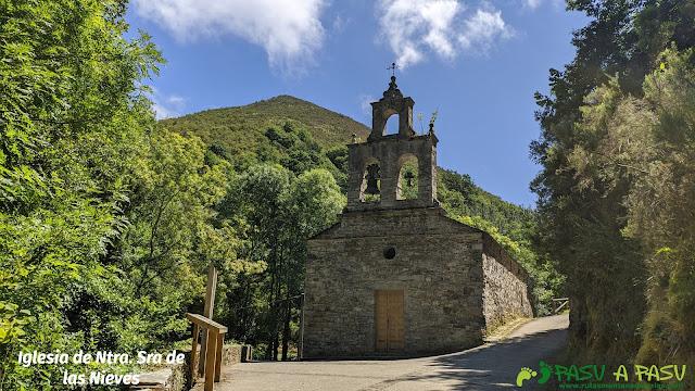 Iglesia de Nuestra Señora de las Nieves, As Veigas, Taramundi