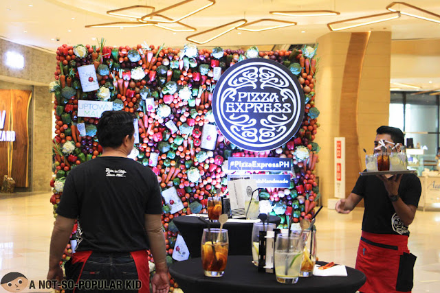 Grand launch of pizza express in BGC