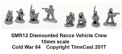 SMR12 Dismounted Recce Vehicle Crews