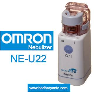 OMRON Nebulizer, Terapi Uap Yang Bisa Menjadi Partner Terbaik Dalam Mengatasi Gangguan Pernapasan