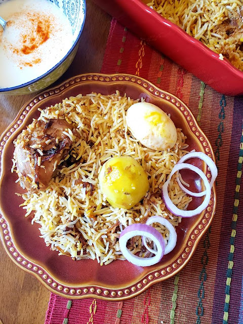 Kolkata Biryani, Chicken Biryani, Kolkata Chicken Biryani