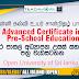 Advanced Certificate in Pre-school Education