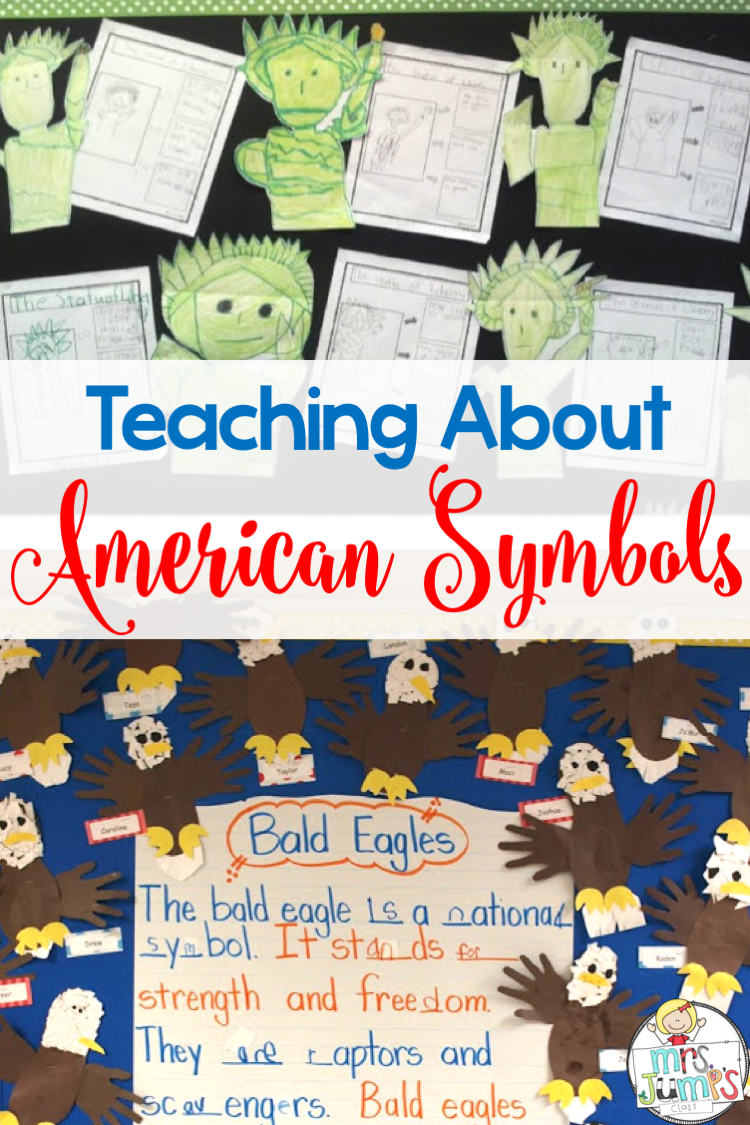 American Symbols For Kids In Kindergarten And First Grade