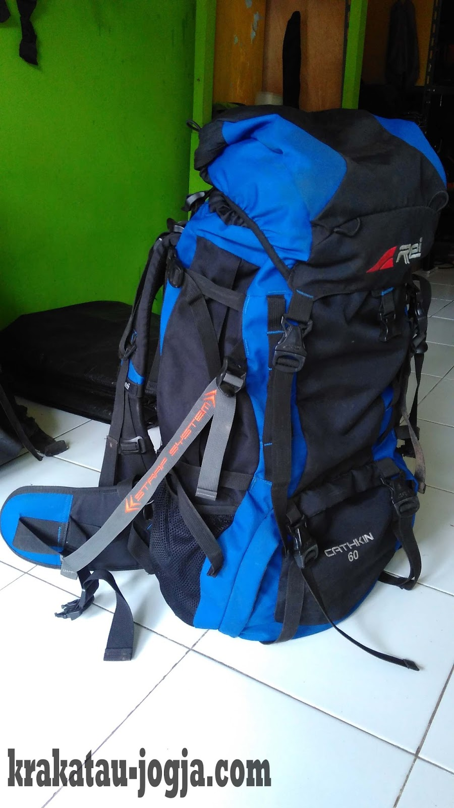 Tas Carrier 60 Liter + Cover Image