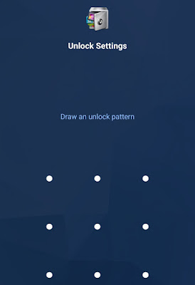 Draw unlock pattern