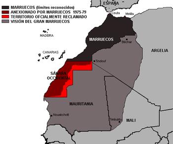 El gran Marruecos, un sueño nacional-fascista