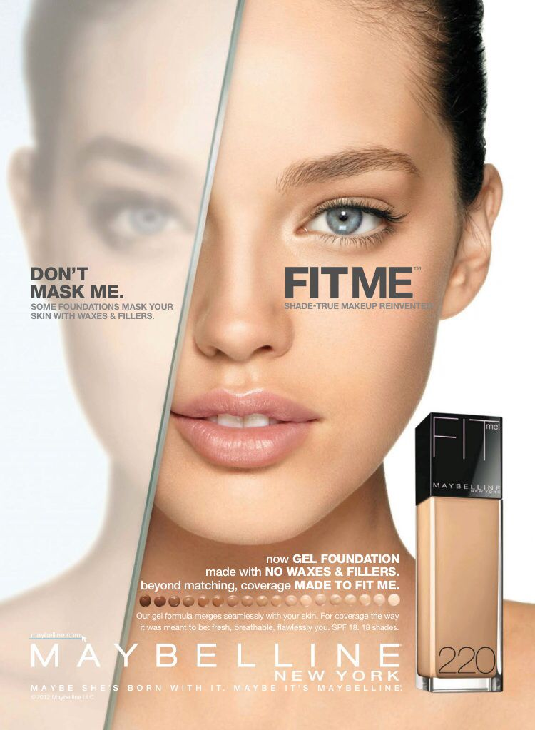 maybelline new york fit me foundation don't mask me accept facts for what they are hyväksy faktat sellaisina kuin ne ovat