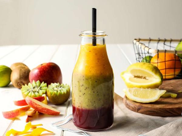 3 recetas de smoothies con frutas y verduras