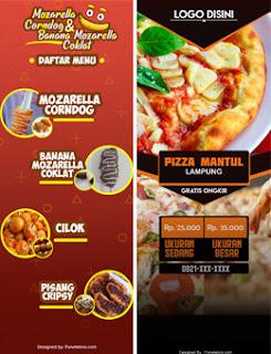 Download Gratis Desain X Banner Usaha Makanan Terbaru Fone Tekno