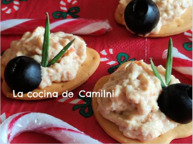 Paté sencillo de atún y surimi (La cocina de Camilni)
