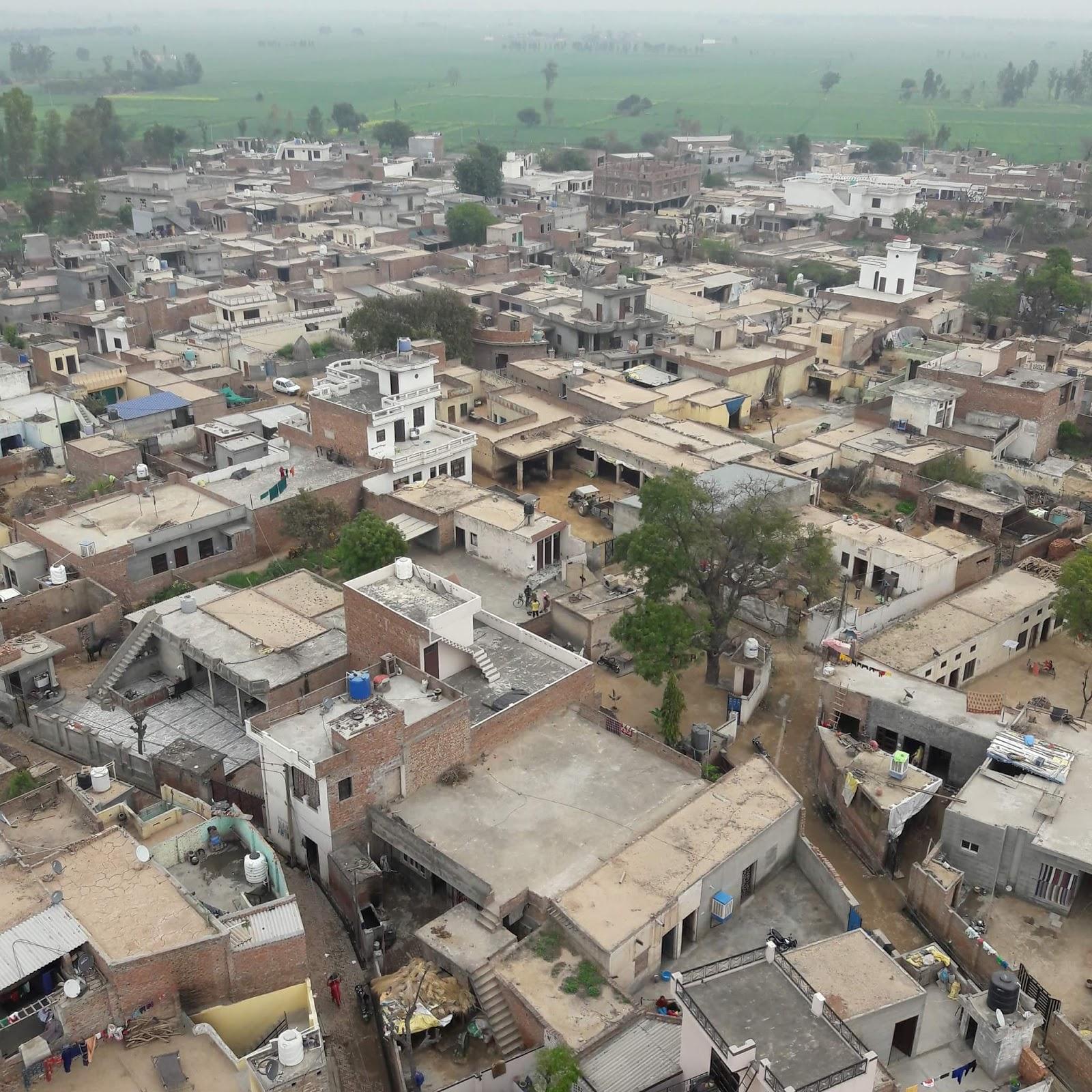 problems of village life essay