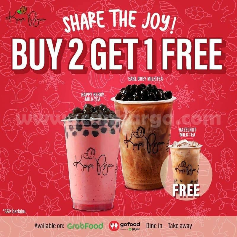 Kopi Pujaan Promo SHare The Joy Buy 2 Get 1 Free
