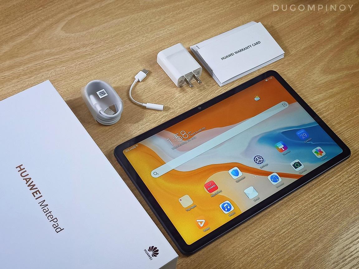 Huawei MatePad unboxing