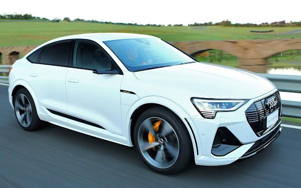 Audi e-tron Sportback 2022 - Brasil - branco