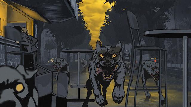 fotograma 2 de la película de animación documental Vals con Bashir