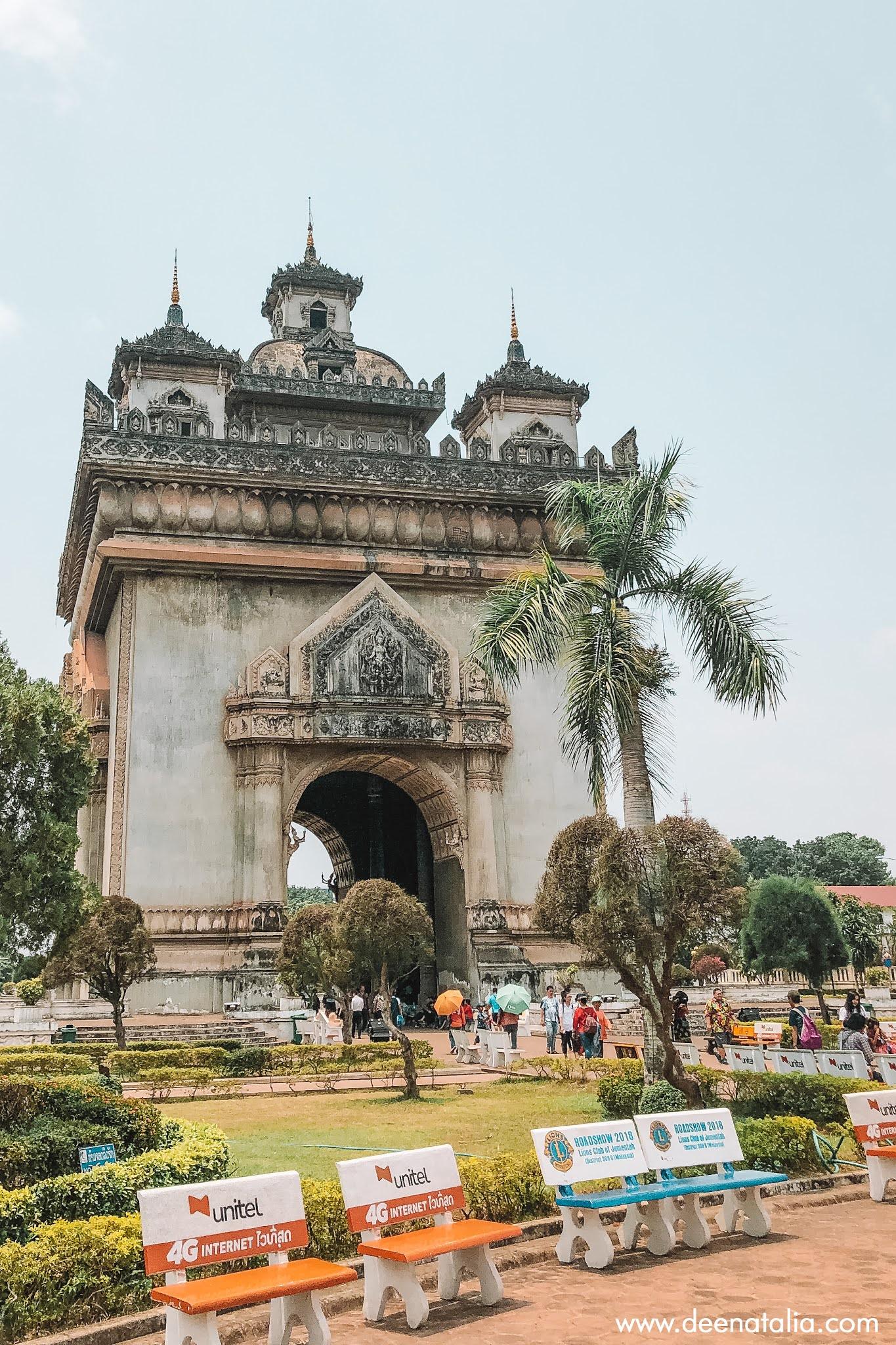 Patuxai Monument Vientiane