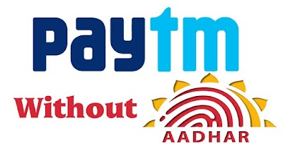 How To Done KYC In Paytm Without Aadhar Card