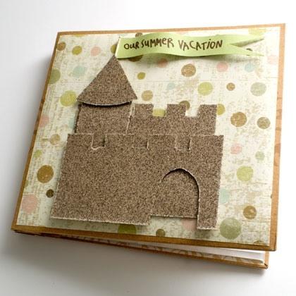 Sand Castle Scrapbook