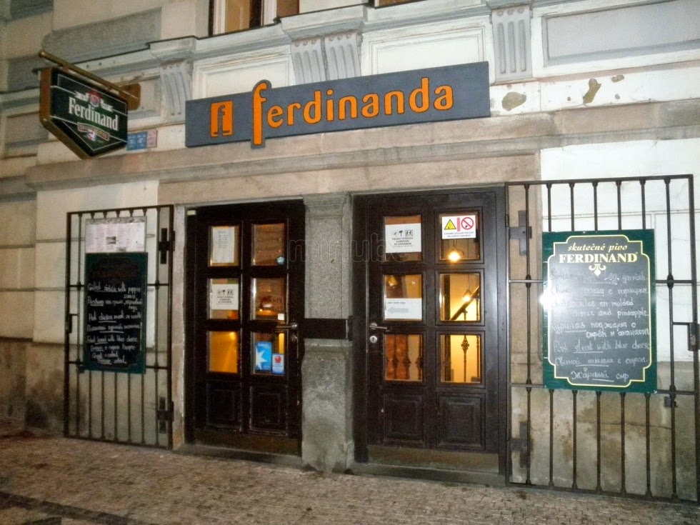 Restaurante Ferdinanda em Praga