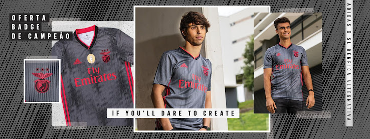 low priced 1e3bd 881f1 Benfica 19-20 Away Kit Released - Footy Headlines
