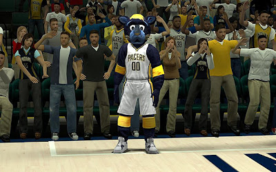 NBA 2K13 Indiana Pacers Mascot Patch