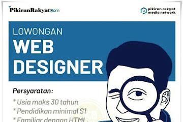 Lowongan Kerja Bandung Web Designer Pikiran Rakyat