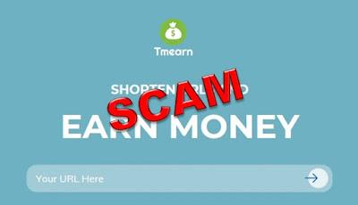 Tmearn no paga - Scam