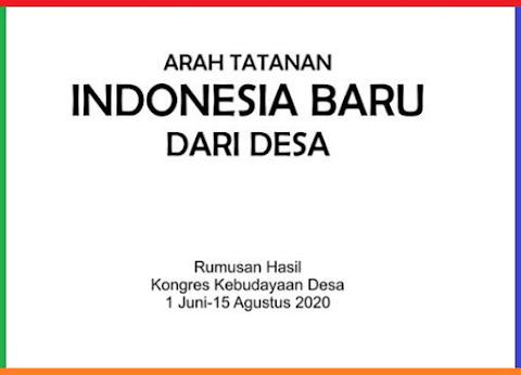 Buku Arah Tatanan Baru Indonesia dari Desa
