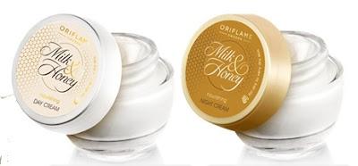 Oriflame κρέμα ημέρας ή νύχτας Milk & Honey Gold 50ml