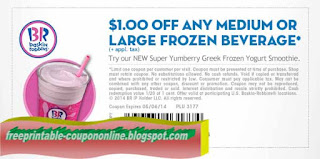 Free Printable Baskin Robbins Coupons