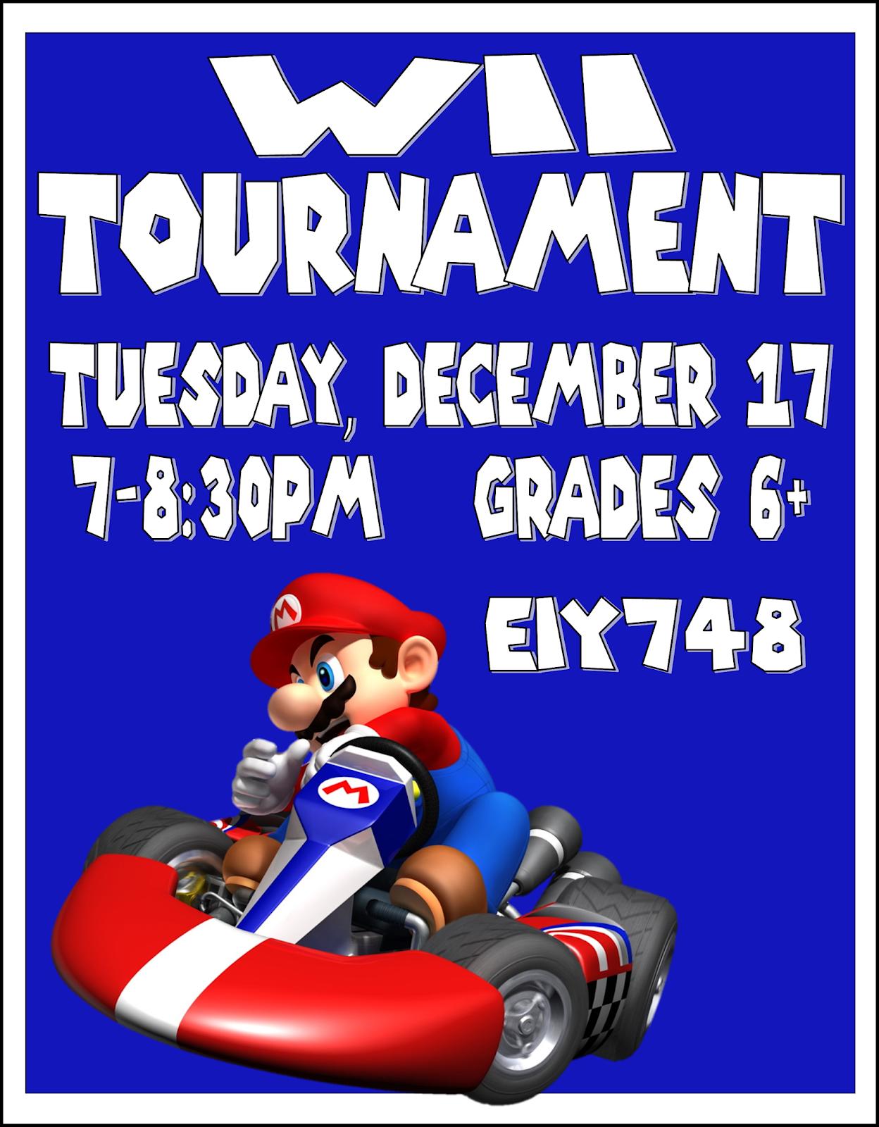 Wii U Tournament