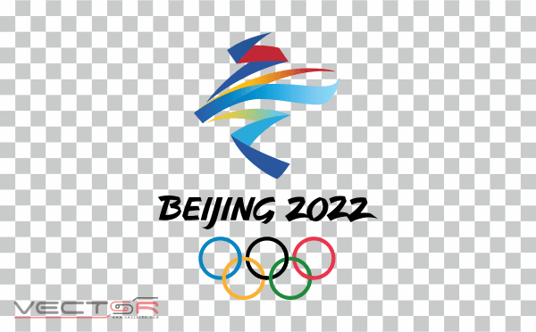 Beijing 2022 Olympics Logo - Download .PNG (Portable Network Graphics) Transparent Images