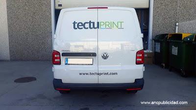 rotular furgoneta en Barcelona