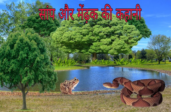 सांप और मेंढ़क की कहानी | Samp aur Mendhak ki panchtantra kahani -