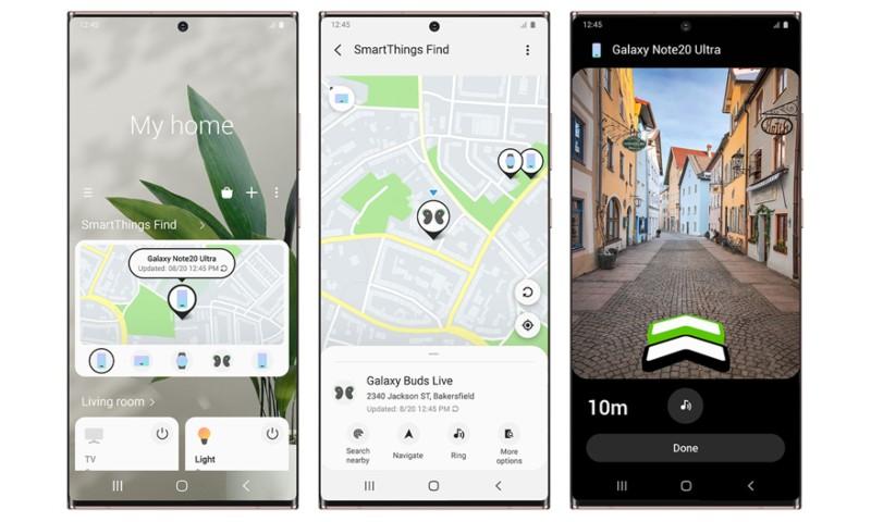 SmartThings Find te ayuda a localizar tu Samsung
