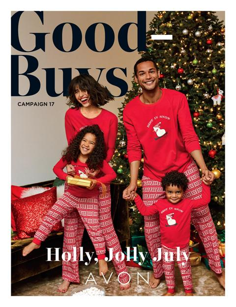 Avon Good Buys Brochure Campaign 17 2020 Booklet Online - Holly, Jolly July!