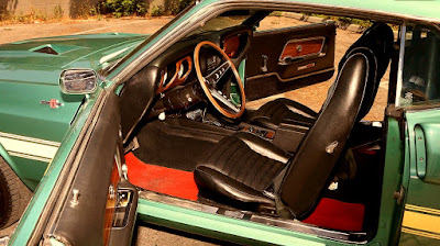 1969 Ford Mustang Shelby GT500 Fastback 428 Ram Air Cobra Jet Interior