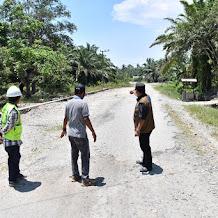 Peningkatan Ruas Jalan Patila – Munte Mulai Dikerjakan, Nilai Anggaran Rp 22 Milyar