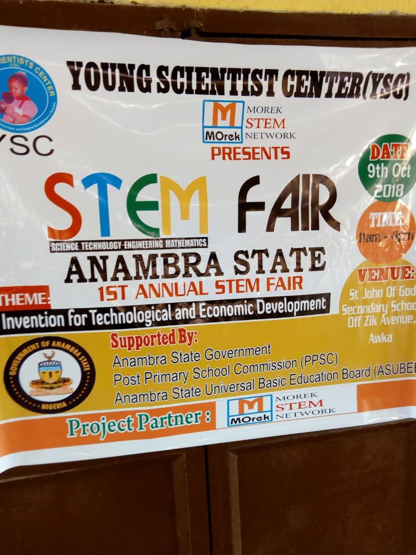 Anambra School Children Made Generator Which Runs on Water - Photos