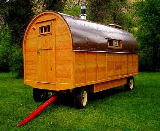 Modern Sheep Wagon