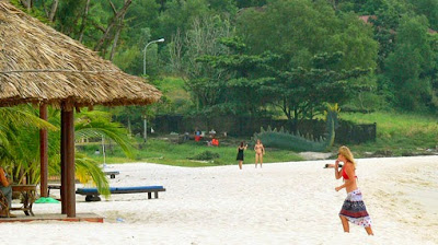 Sokha Beach at Sihanoukville and some activities