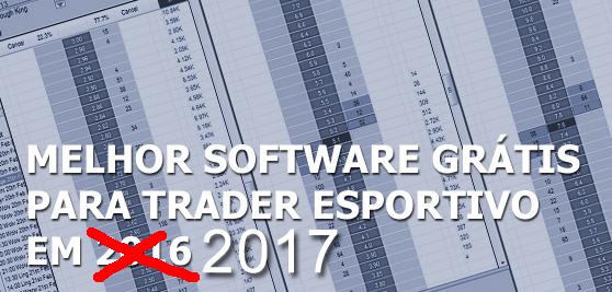 melhor software betfair 2017
