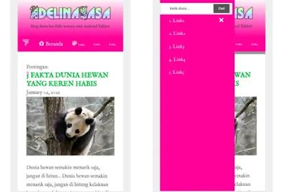Download 3 varian serial template mobile editblog, keren!
