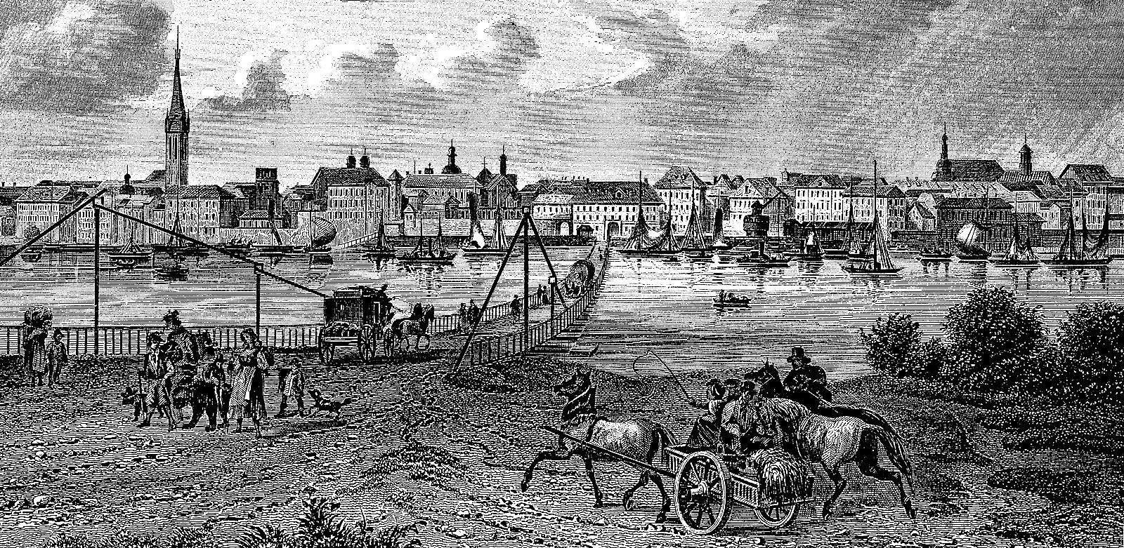 Старый город, 1850 год.