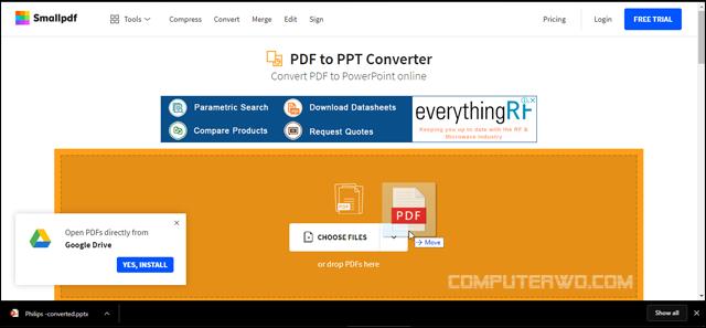كيفية تحويل ملف PDF إلى PowerPoint Screenshot_5