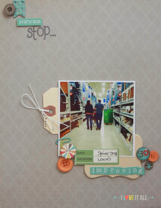 Scrapbooking Your Relationship with Monika Wright