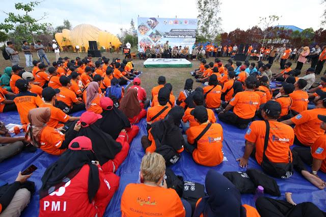 Jamnas Relawan PB 2019 di Belitung Sukses Digelar