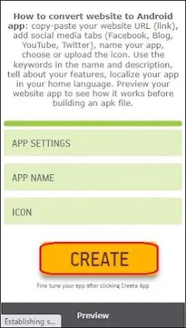 App kaise banaye mobile se