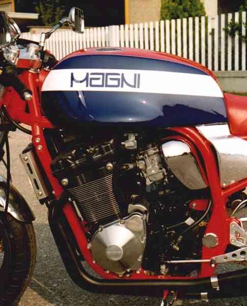 Magni Suzuki Sport 1200 S Engine