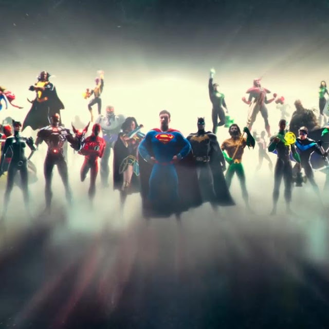 Justice League Full Team Wallpaper Engine